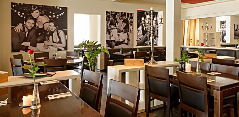 L 39 italiano ulm ristorante pizzeria for Ristorante l isolotto milano